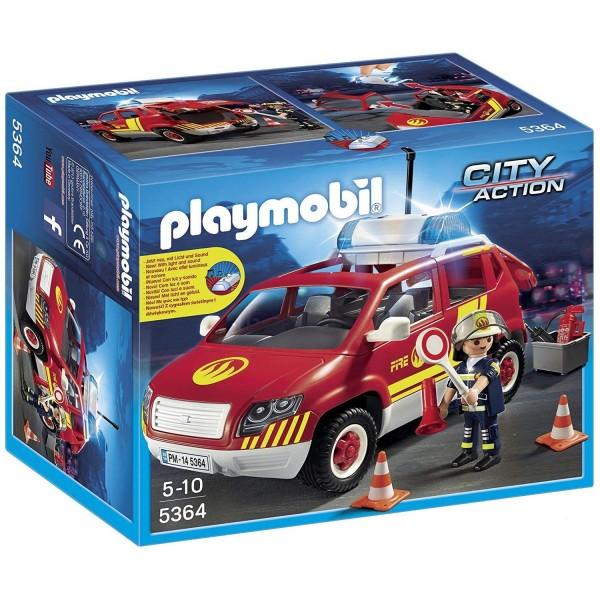 Playmobil 5364 Brandmeisterfahrzeug mit Licht und Sound