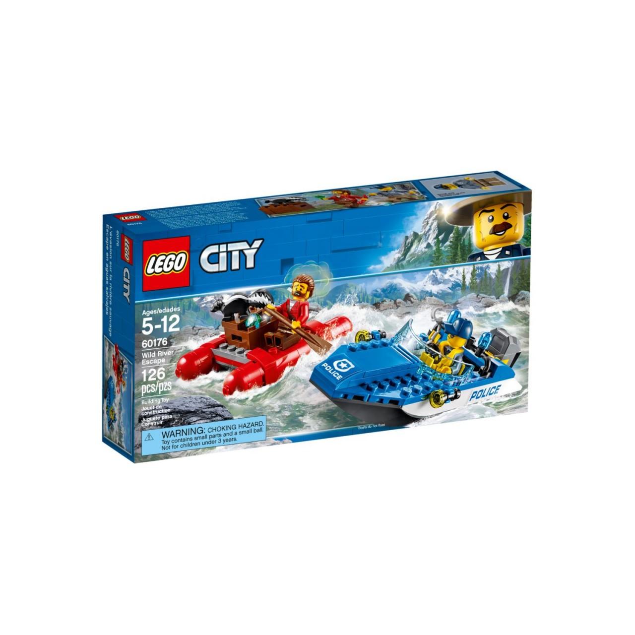 LEGO CITY 60176 Gebirgspolizei Flucht durch die Stromschnellen