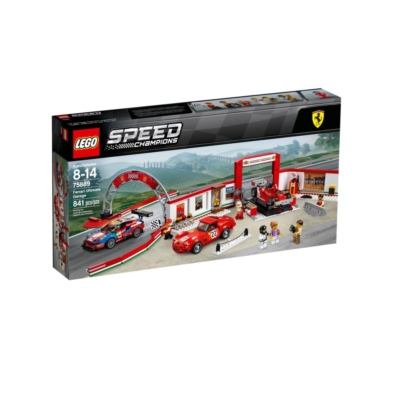 LEGO SPEED CHAMPIONS 75889 Ferrari Ultimative Garage