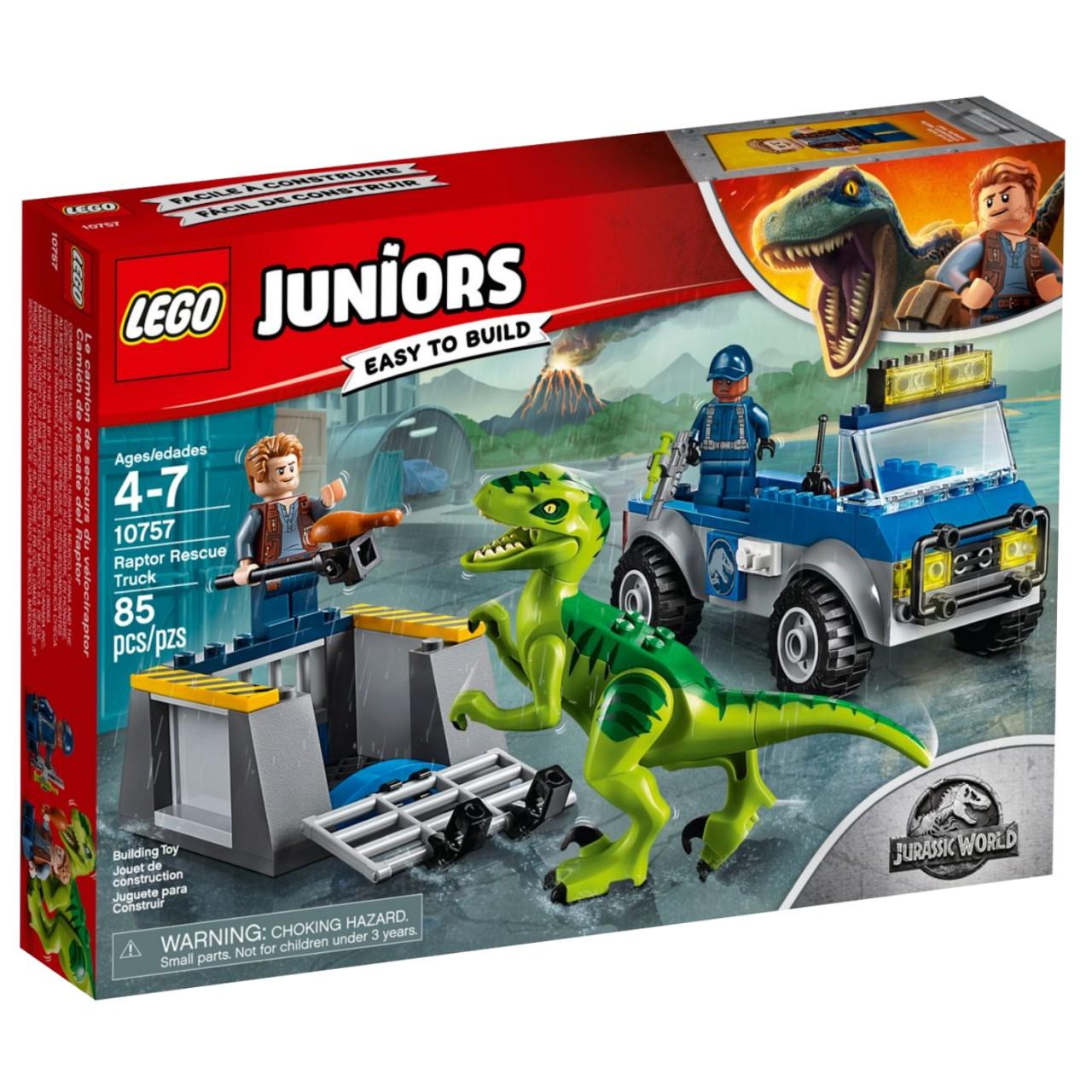 LEGO JUNIORS 10757 Rettungstruck für den Raptor