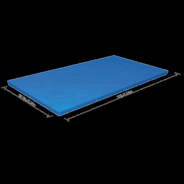 Bestway 58106 Abdeckplane für Frame Pool 300 x 201 cm