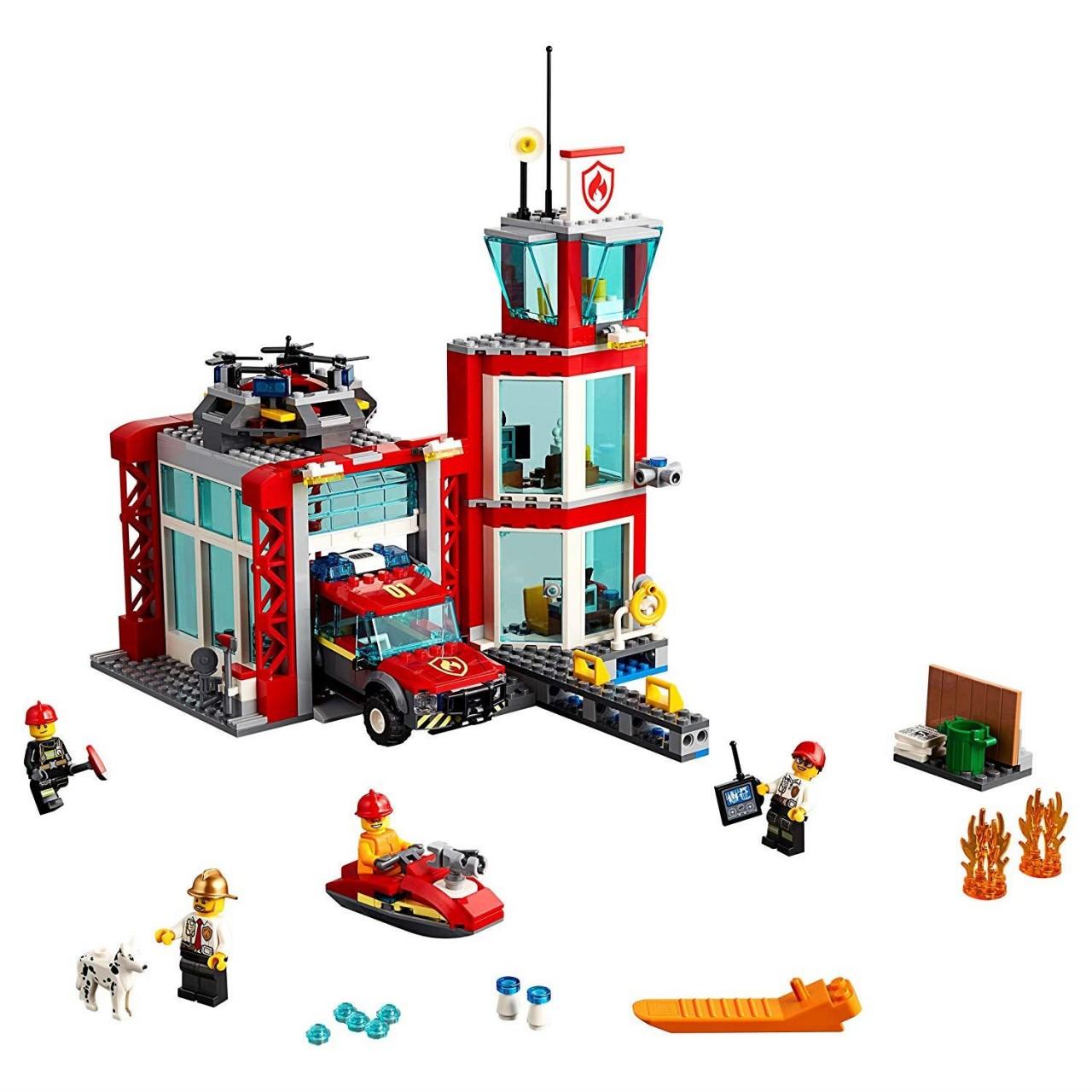 LEGO CITY 60215 Feuerwehr-Station