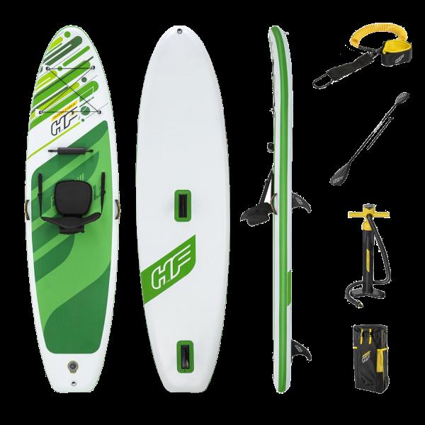 """Bestway Hydro-Force 65310 SUP-Board-Set """"Freesoul Tech"""" Paddelboard aufblasbar"""