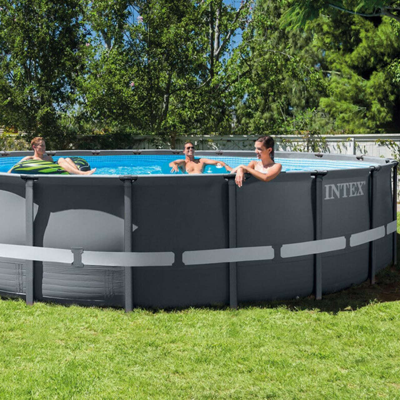 Intex Swimming Pool XTR Ultra Frame Pool Set Ø610x122cm Rondo Komplett-Set 26334