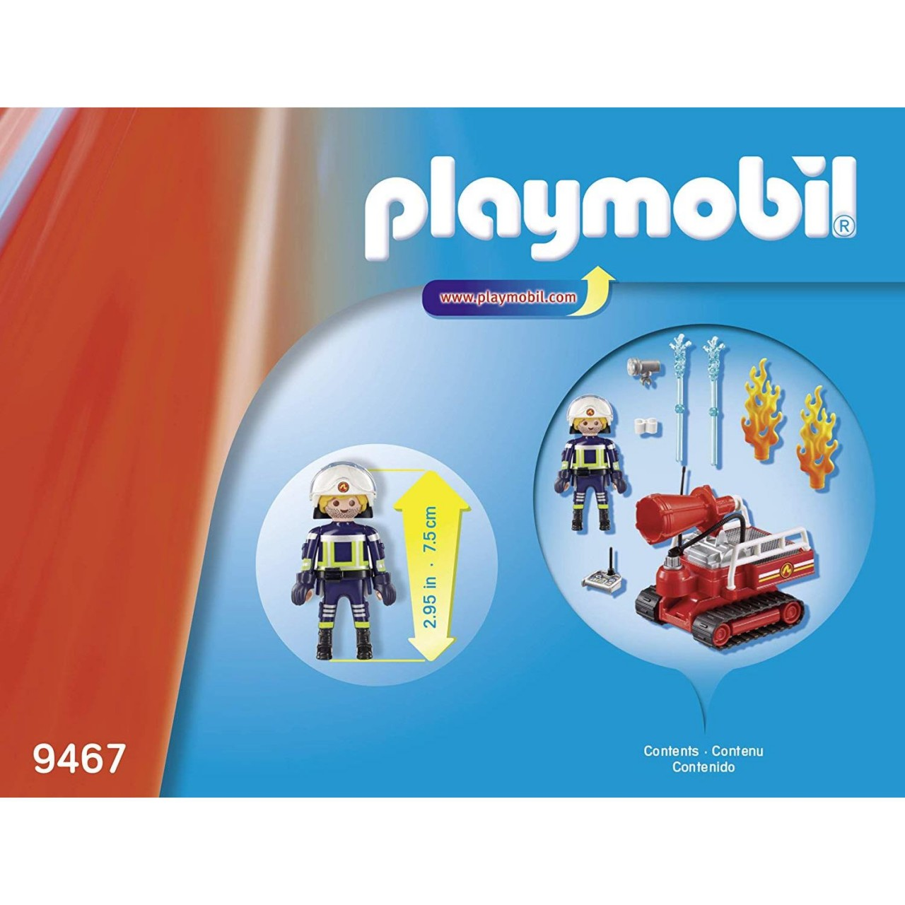 Playmobil 9467 Feuerwehr-Löschroboter