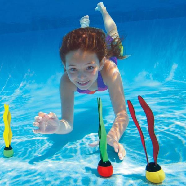 Intex Dive Toyz Unterwasser SpielBälle TauchBälle Tauchspielzeug 3-teilig 55503