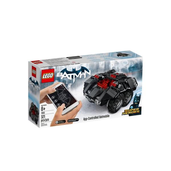 LEGO DC SUPER HEROES 76112 Batman: App-Gesteuertes Batmobile