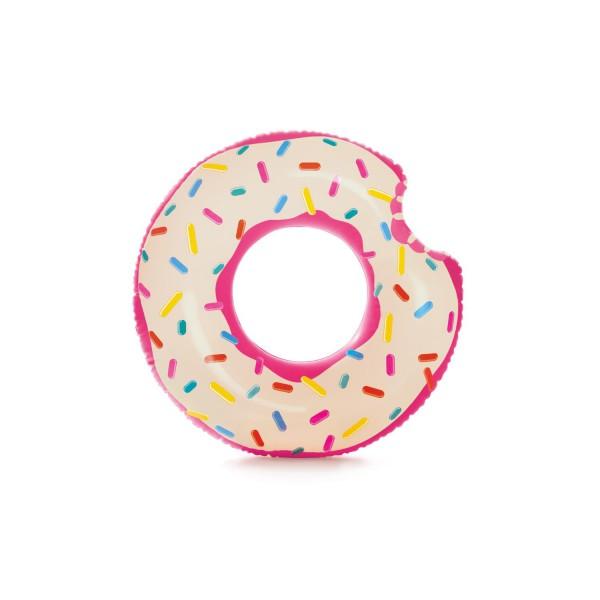 Intex 56265 Donut Schwimmring Ø 107 x 99 cm Insel Pool Lounge Luftmatratze