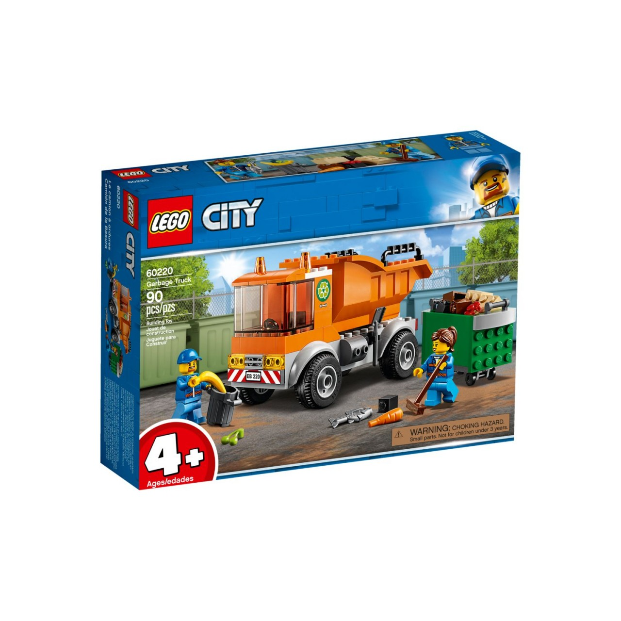 LEGO CITY 60220 Müllabfuhr