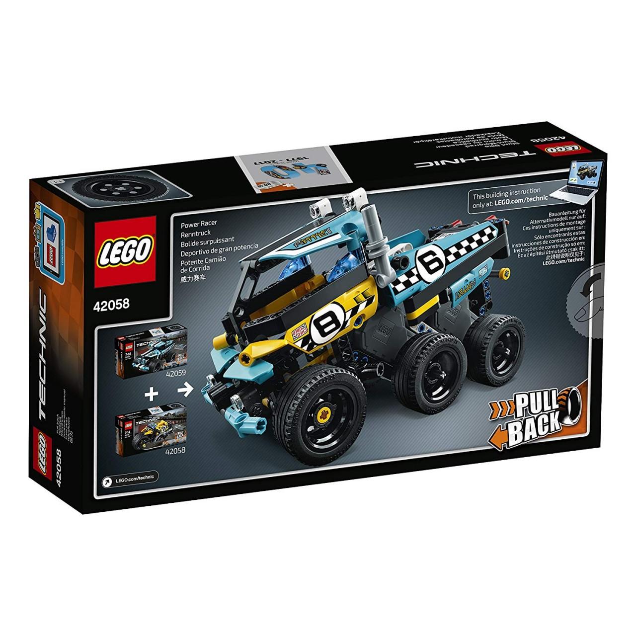 LEGO TECHNIC 42058 Stunt-Motorrad