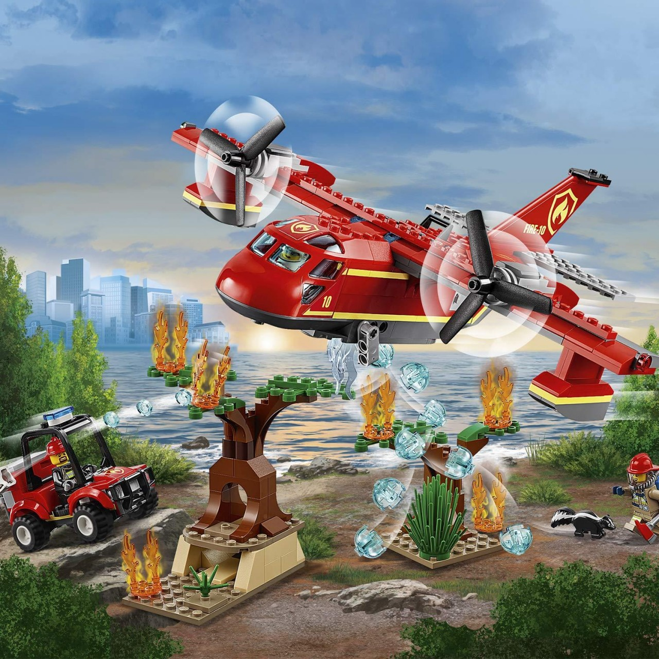 LEGO CITY 60217 Löschflugzeug der Feuerwehr