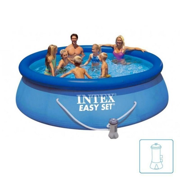 Intex Easy Set 28122 Swimming Pool Set 305x76cm Planschbecken mit Pumpe