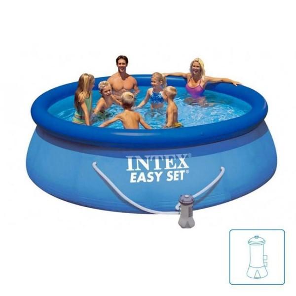 Intex Easy Set 28122 Swimming Pool Set 305x76cm Planschbecken mit Pumpe