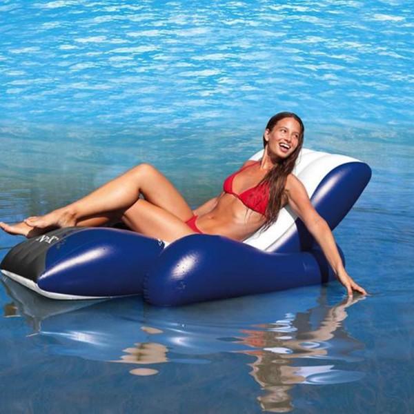 Intex 58868 Schwimmliege Lounge Wasserliege Luftmatratze Badeinsel aufblasbar