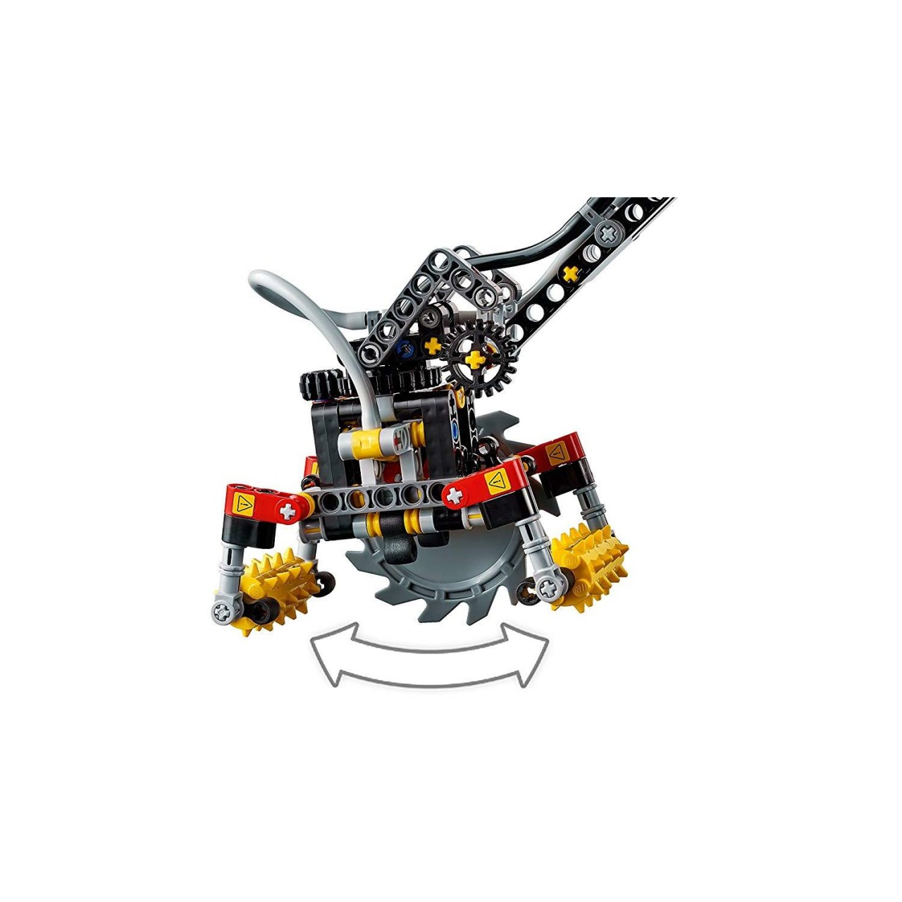 LEGO TECHNIC 42080 Harvester-Forstmaschine