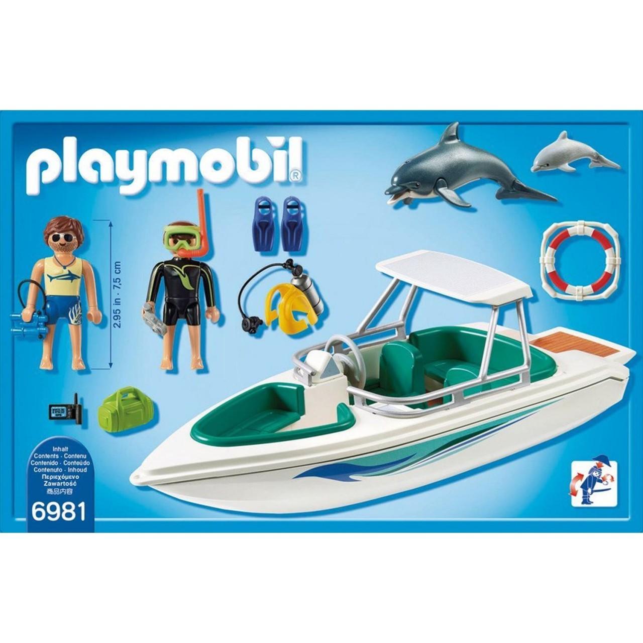 Playmobil 6981 Tauchausflug mit Sportboot