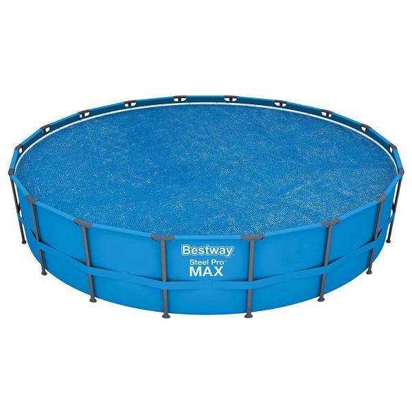 Bestway 58173 Solarabdeckplane ø549cm für Steel Pro MAX Pool und Power Steel Pool