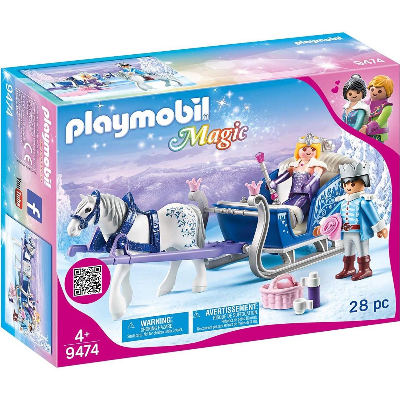 Playmobil 9474 Schlitten mit Königspaar