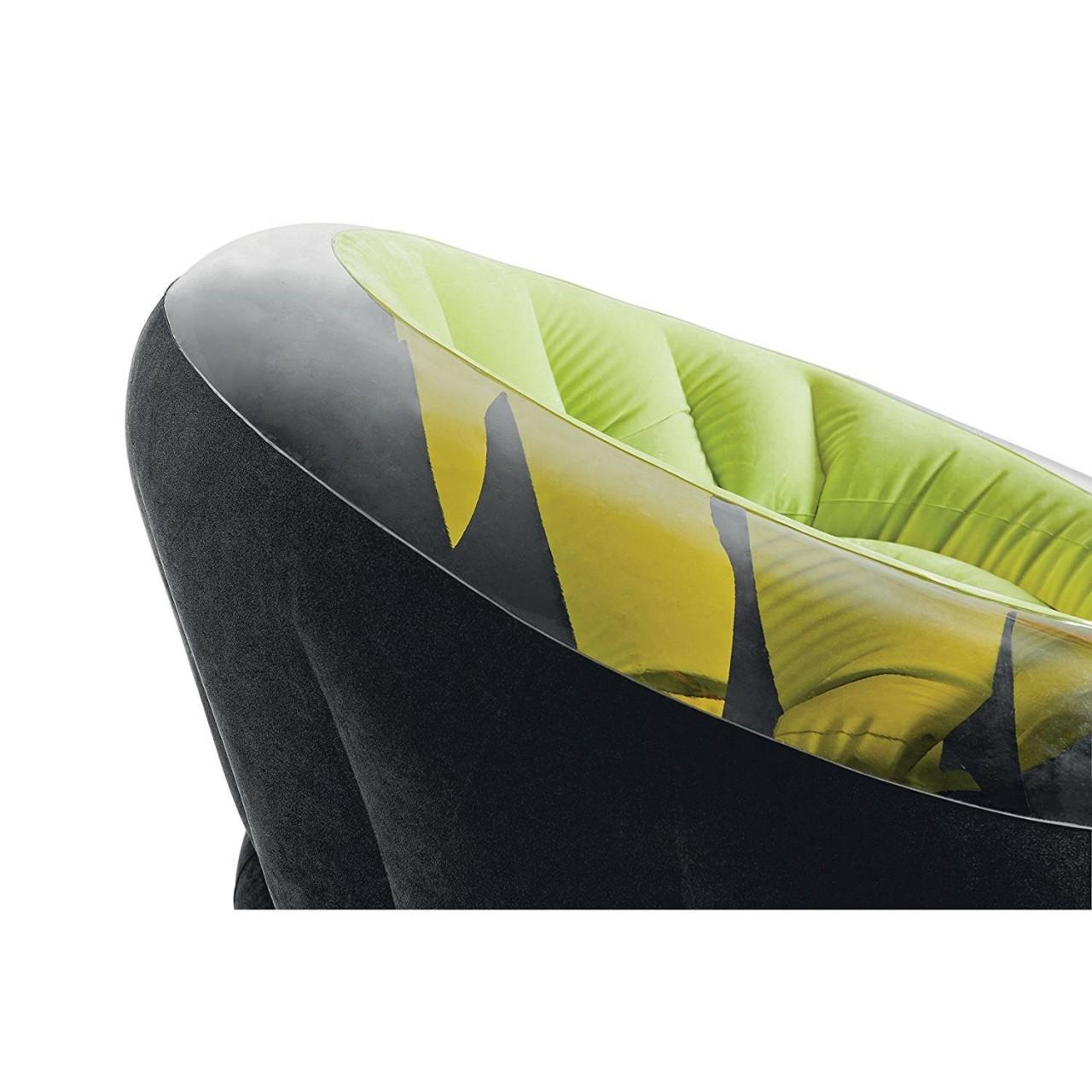 Intex 68581 Lounge Sessel Camping Fernsehsessel Sitzsack 112x109x69cm