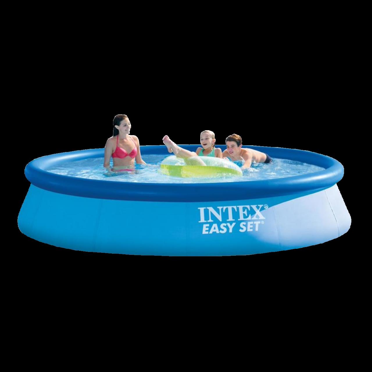 Intex 28143 Easy Set Swimming Pool Ø396x84cm Aufstellpool Planschbecken Rundpool
