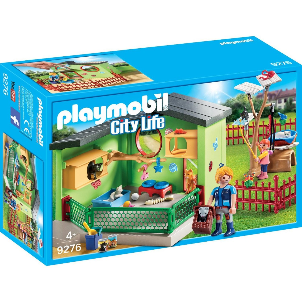 Playmobil 9276 Katzenpension