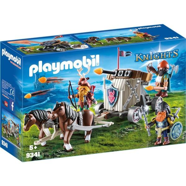 Playmobil 9341 Ponygespann mit Zwergenballiste