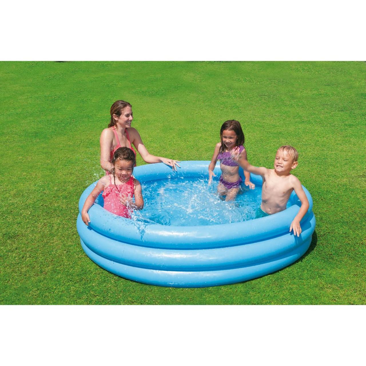 Intex 58426NP Crystal Blue Schwimmbad 147 x 33 cm blau
