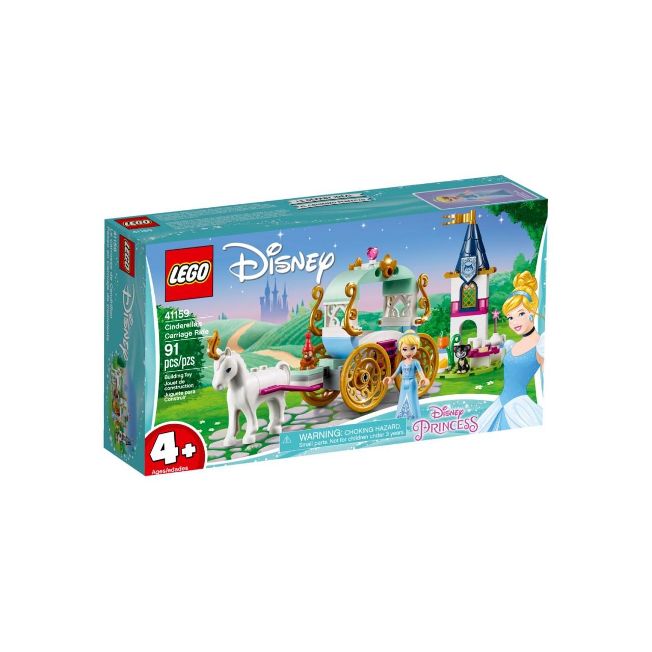 LEGO DISNEY 41159 Cindarella's Kutsche