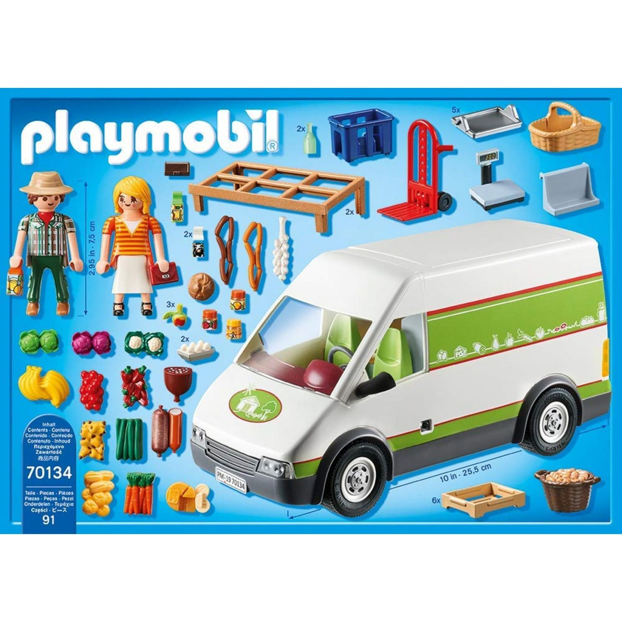 Playmobil 70134 Hofladen-Fahrzeug