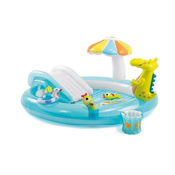 Intex 57129 Planschbecken Playcenter Alligator 203 x 173 cm Intex