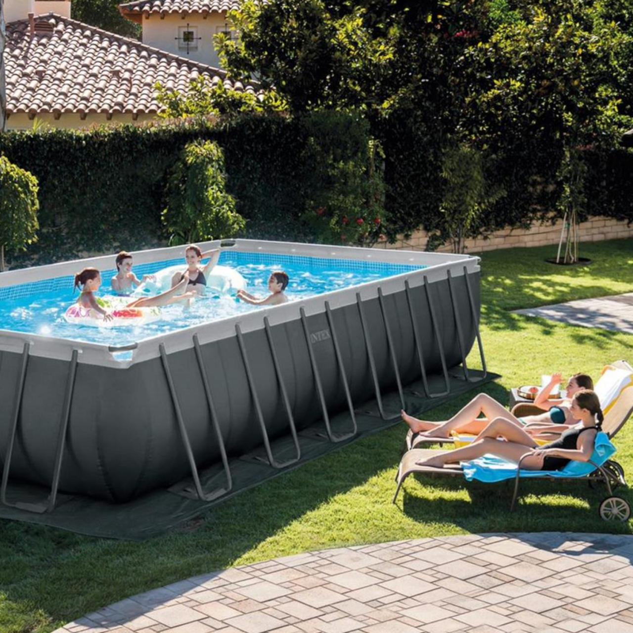 Intex Swimmingpool XTR Ultra Frame Pool Set 732 x 366 x 132 cm 26364