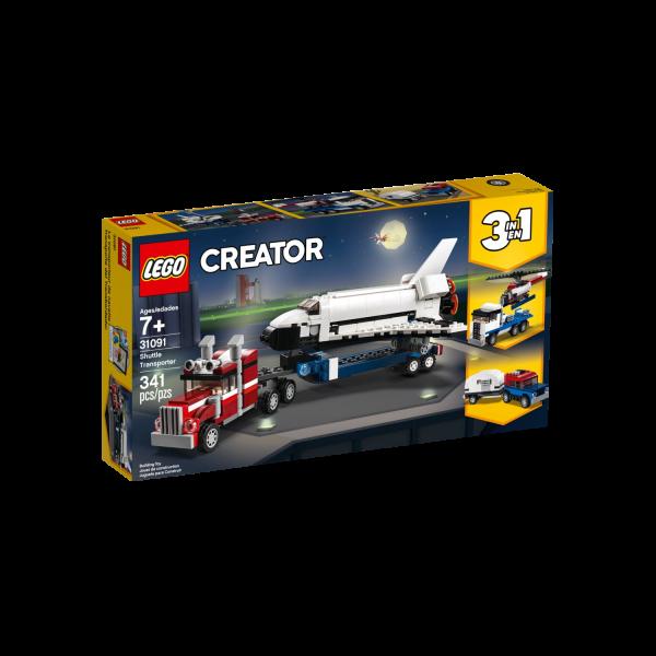 LEGO CREATOR 31091 Transporter für Space Shuttle