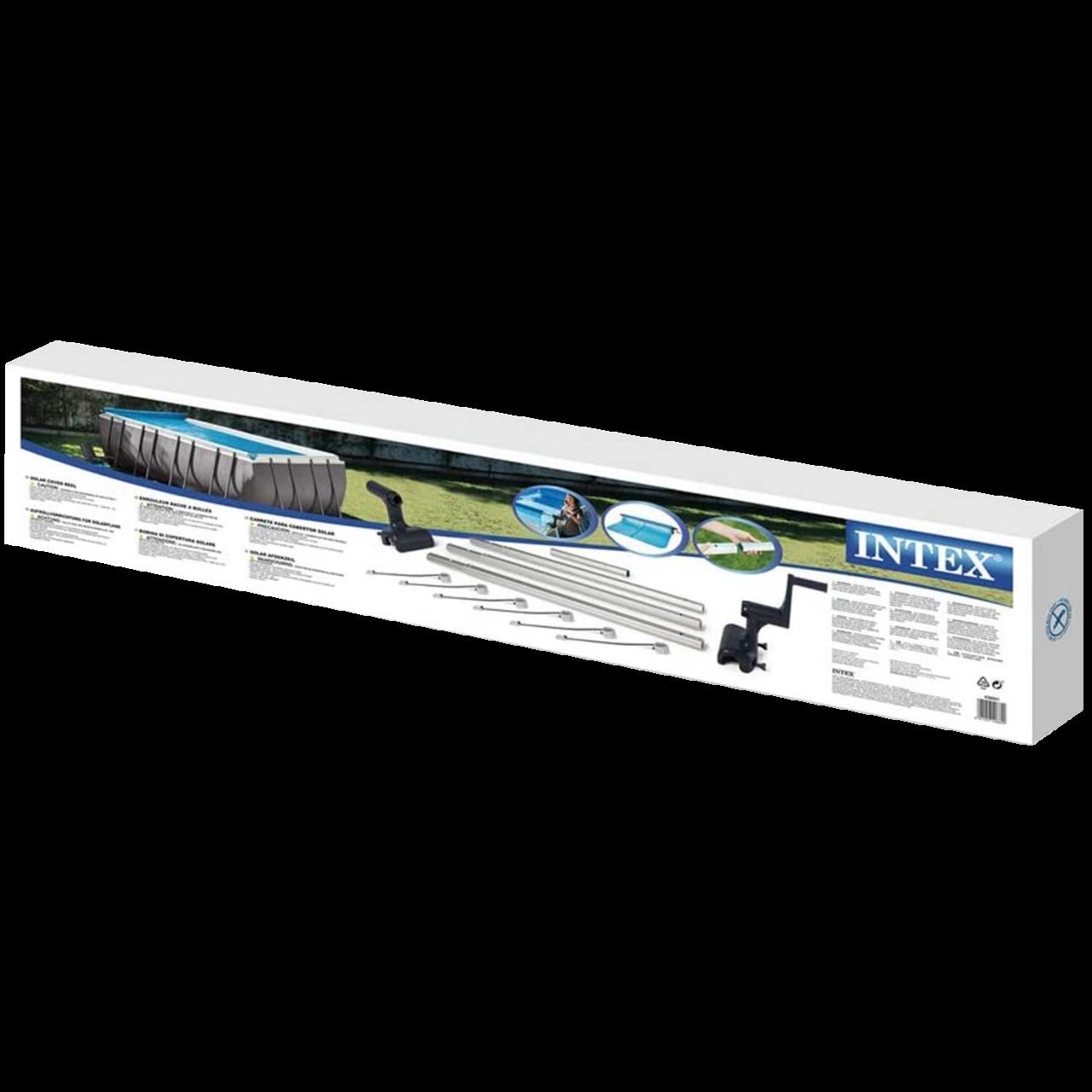Intex Aufrollvorrichtung für Solarplane Solarheizung Wärmeplane Pool 28051