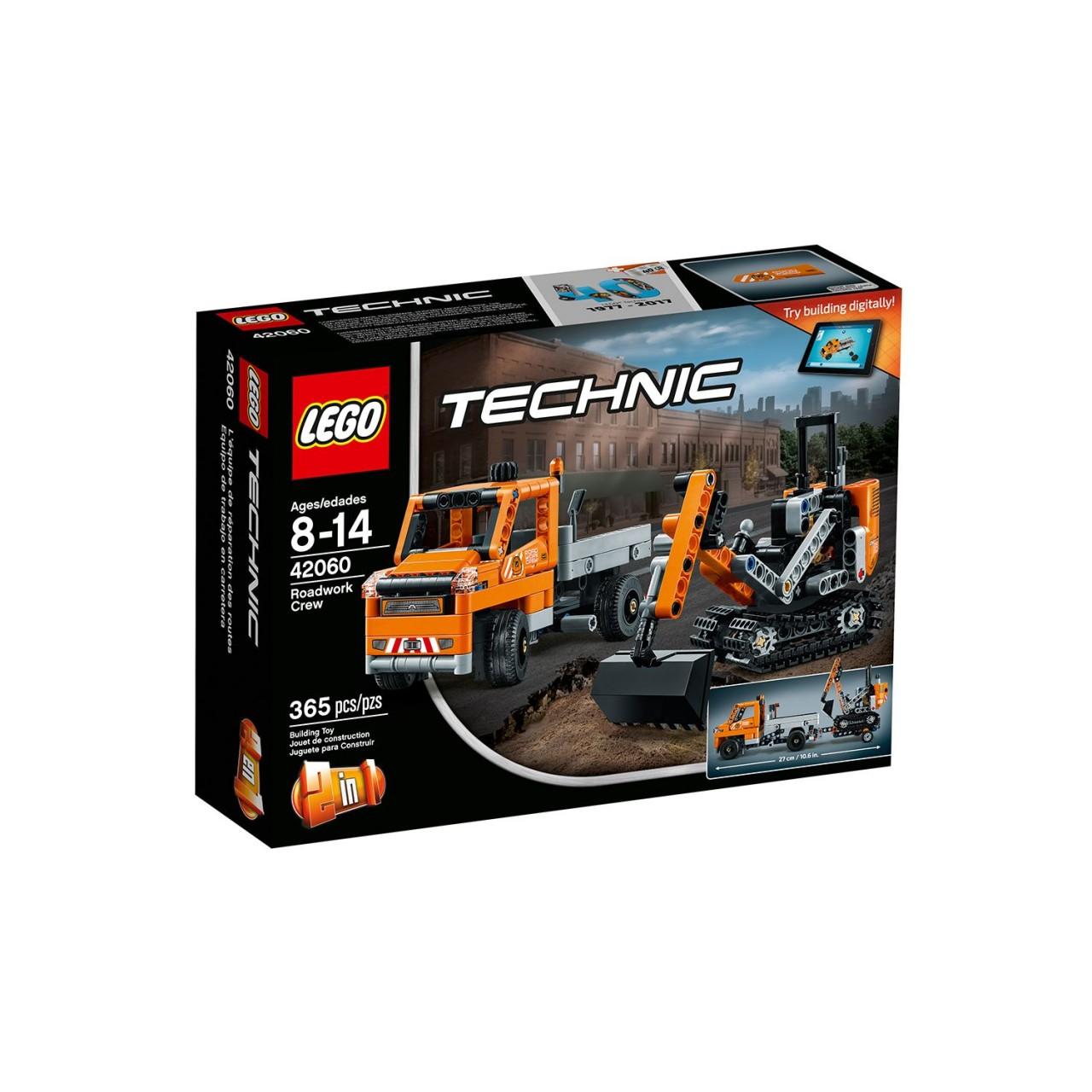 LEGO TECHNIC 42060 Straßenbau-Fahrzeuge