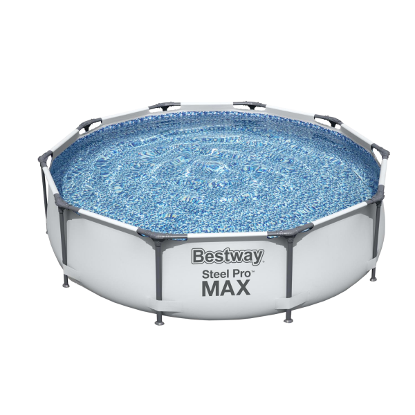 Bestway 56406 Steel Pro MAX Frame Pool Swimming Pool Schwimmbad Garten Ø305x76cm