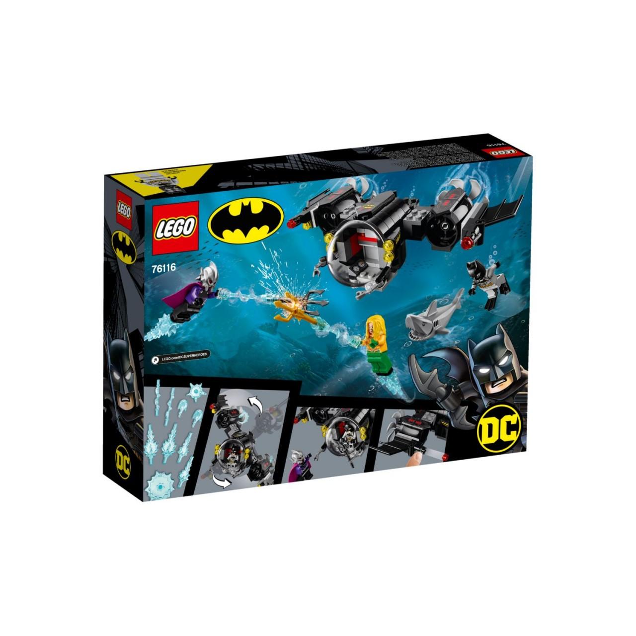 LEGO DC COMICS SUPER HEROES 76116 Batman im Bat-U-Boot