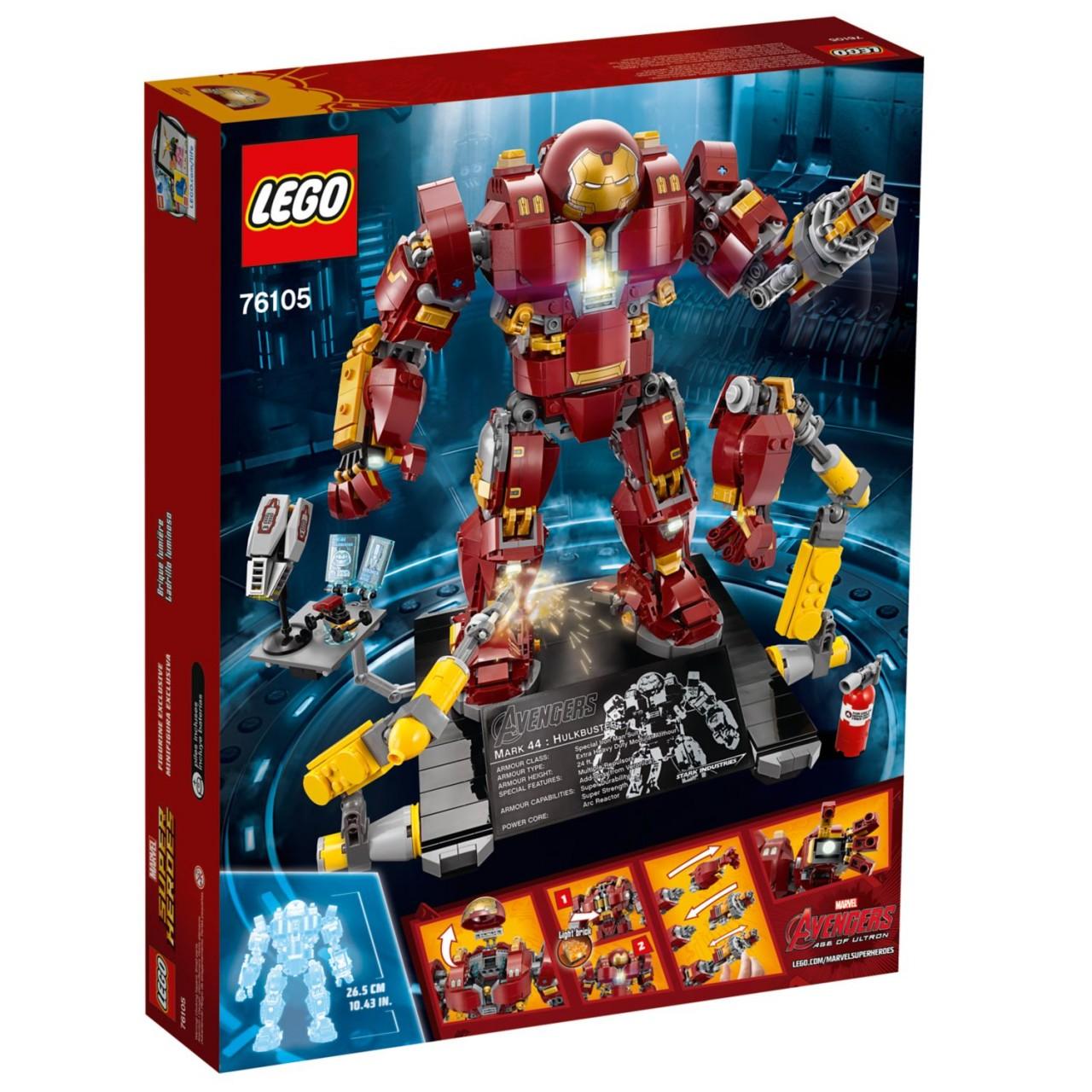 LEGO MARVEL SUPER HEROES 76105 Der Hulkbuster: Ultron Edition