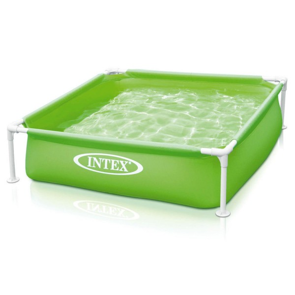 Intex 57172 Mini Frame Kinderpool 122x122x30cm Babypool Planschbecken Pool