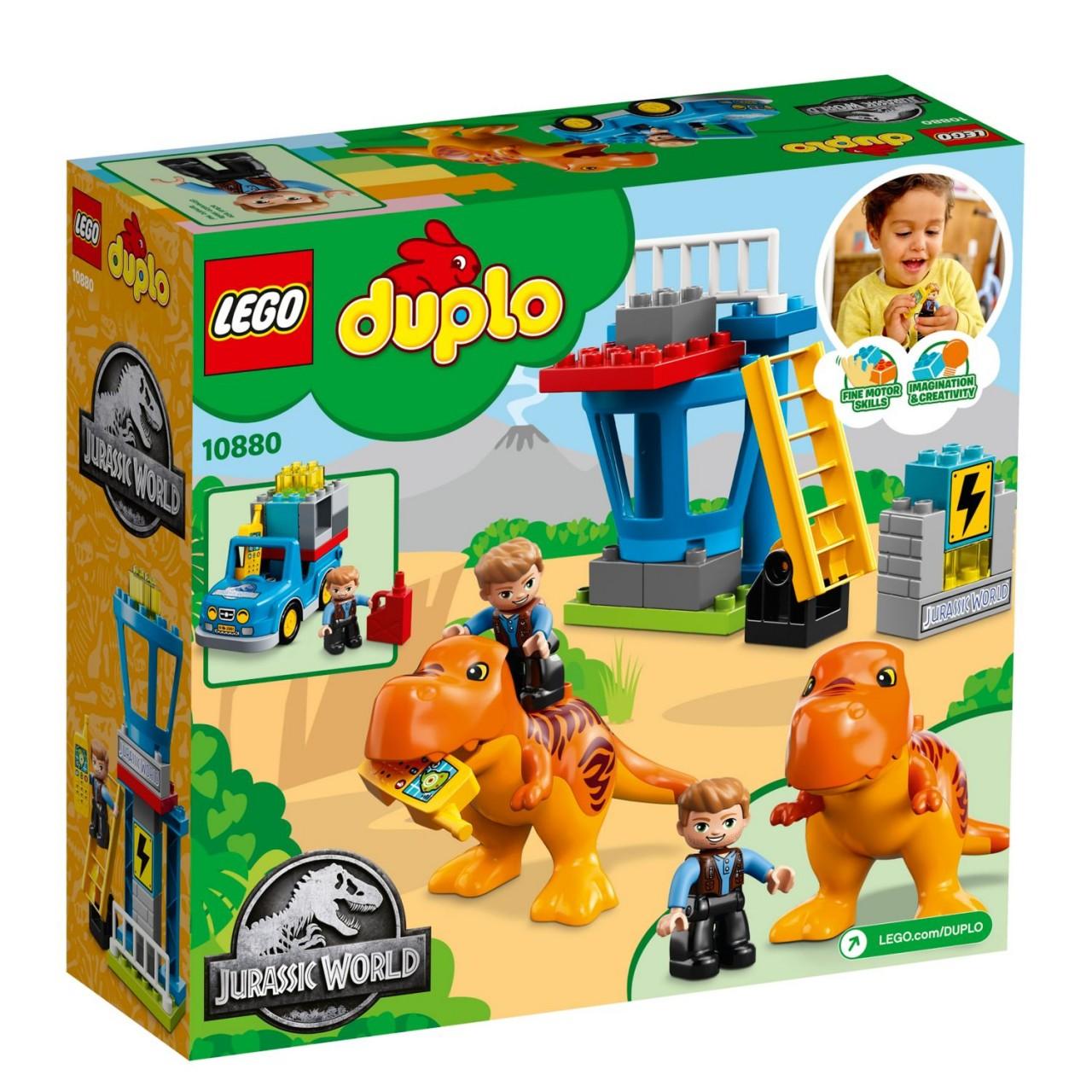 LEGO DUPLO 10880 Jurassic World T-Rex Aussichtsplattform