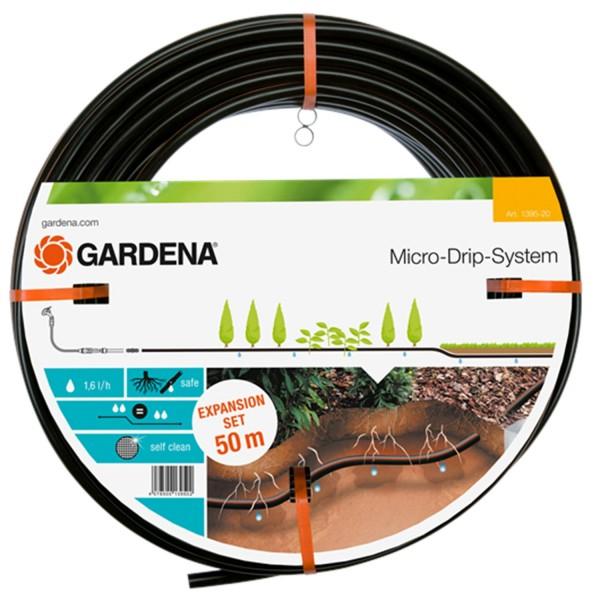 Gardena Tropfrohr unterirdisch 13,7 mm 1395-20 Micro-Drip-System Erweiterungsset