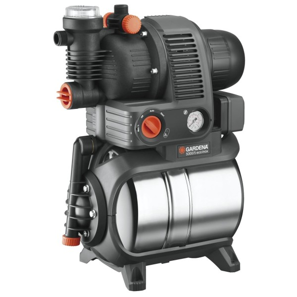 Gardena Hauswasserwerk 5000/5 1756-20 Gartenbewässerung Pumpe Premium 4500 l/h