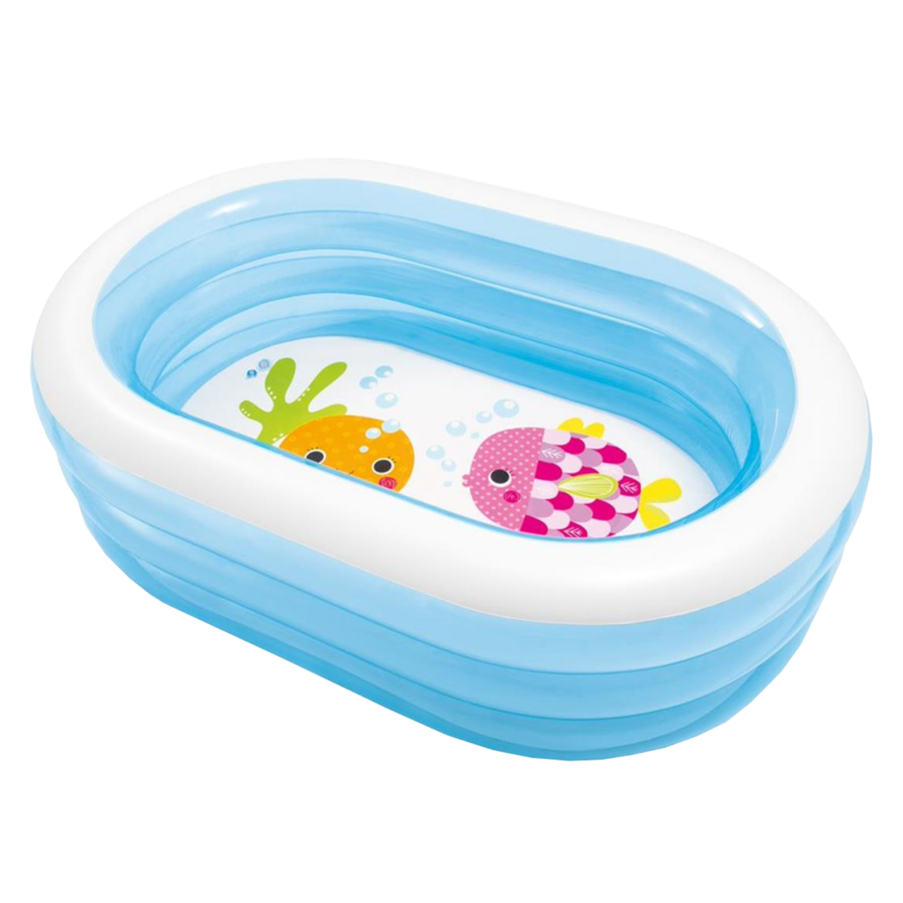 Intex 57482 Planschbecken Swimming Pool Kinderpool 163x107x46cm Oval Whale Fun