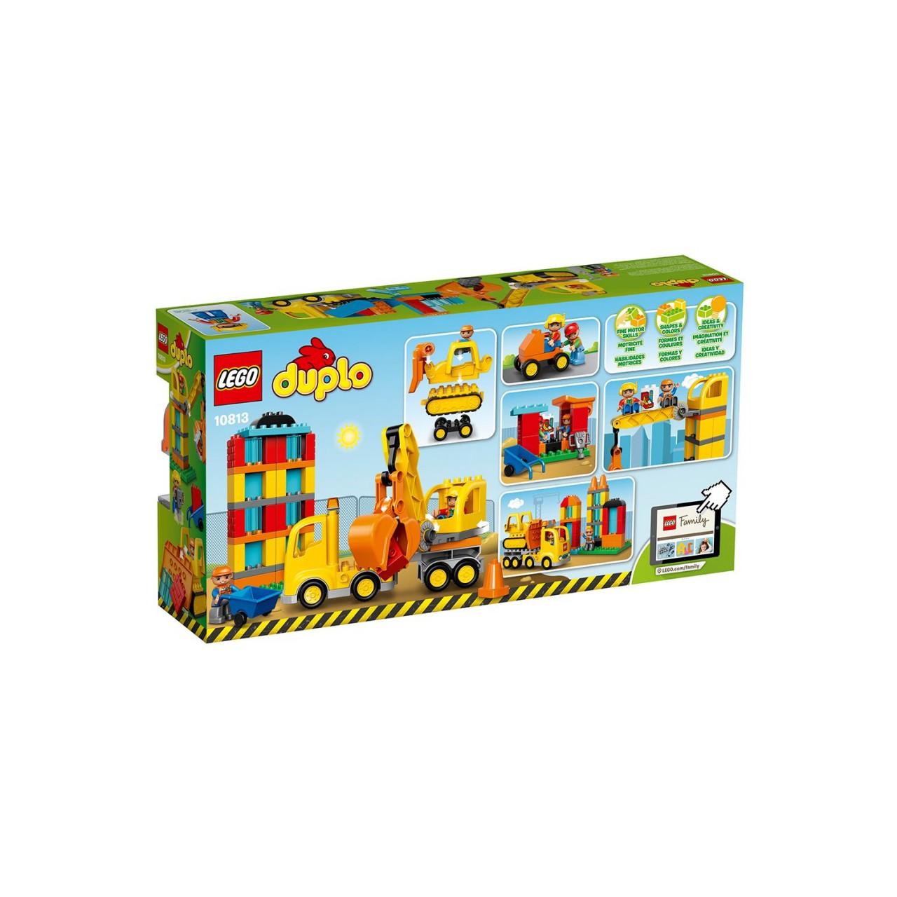 LEGO DUPLO 10813 Große Baustelle