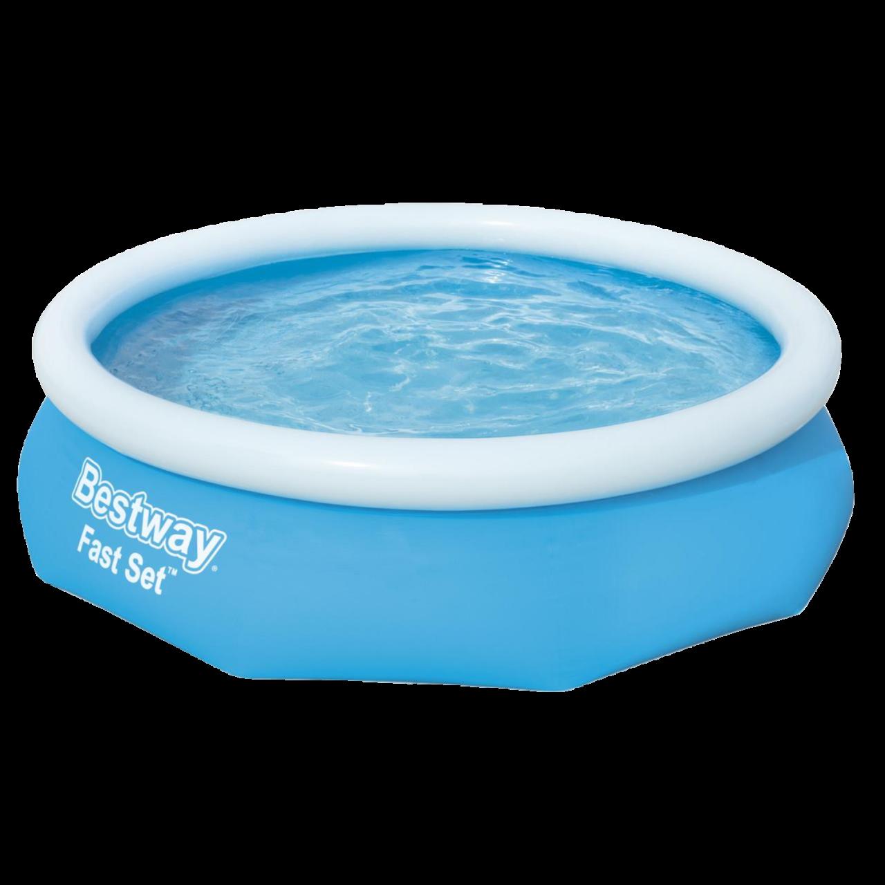 Bestway Fast Set Pool mit Filterpumpe Schwimmbad Swimmingpool 305 x 76 cm 57270