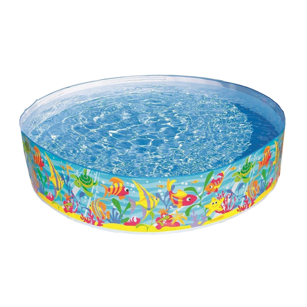 Intex 56452NP Planschbecken Snap-Set Pool Ocean Play Ø 183 x 38 cm Kinderpool