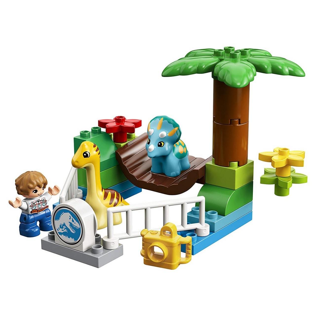 LEGO DUPLO 10879 Jurassic World Dino-Streichelzoo