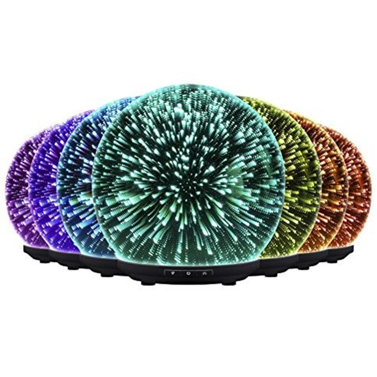 Aroma Diffuser Likemylux 200ml Luftbefeuchter Duftlampe Öl Düfte LED 7 Farben