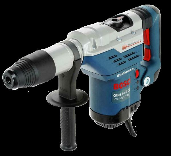 Bosch Bohrhammer BH 5-40 DCE  SDS MAX im Handwerkerkoffer mit Zusatzhandgriff