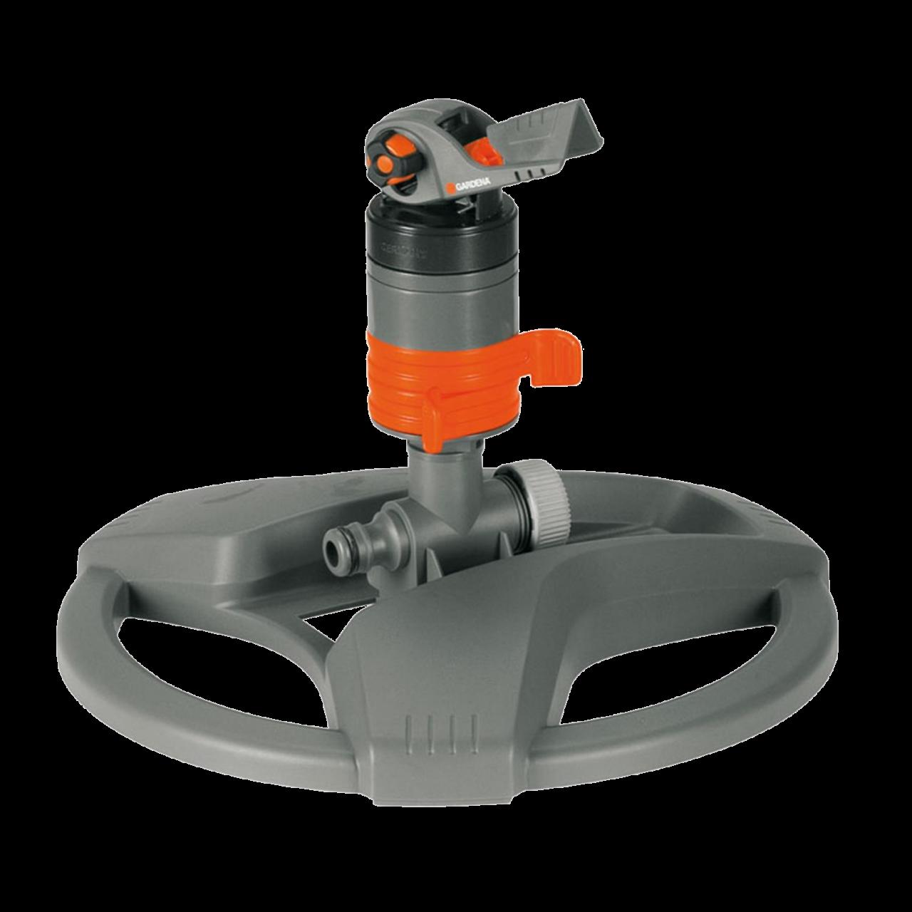 Gardena 8143-20 Comfort Turbinenregner mit Schlitten Regner Rasensprenger 450m²
