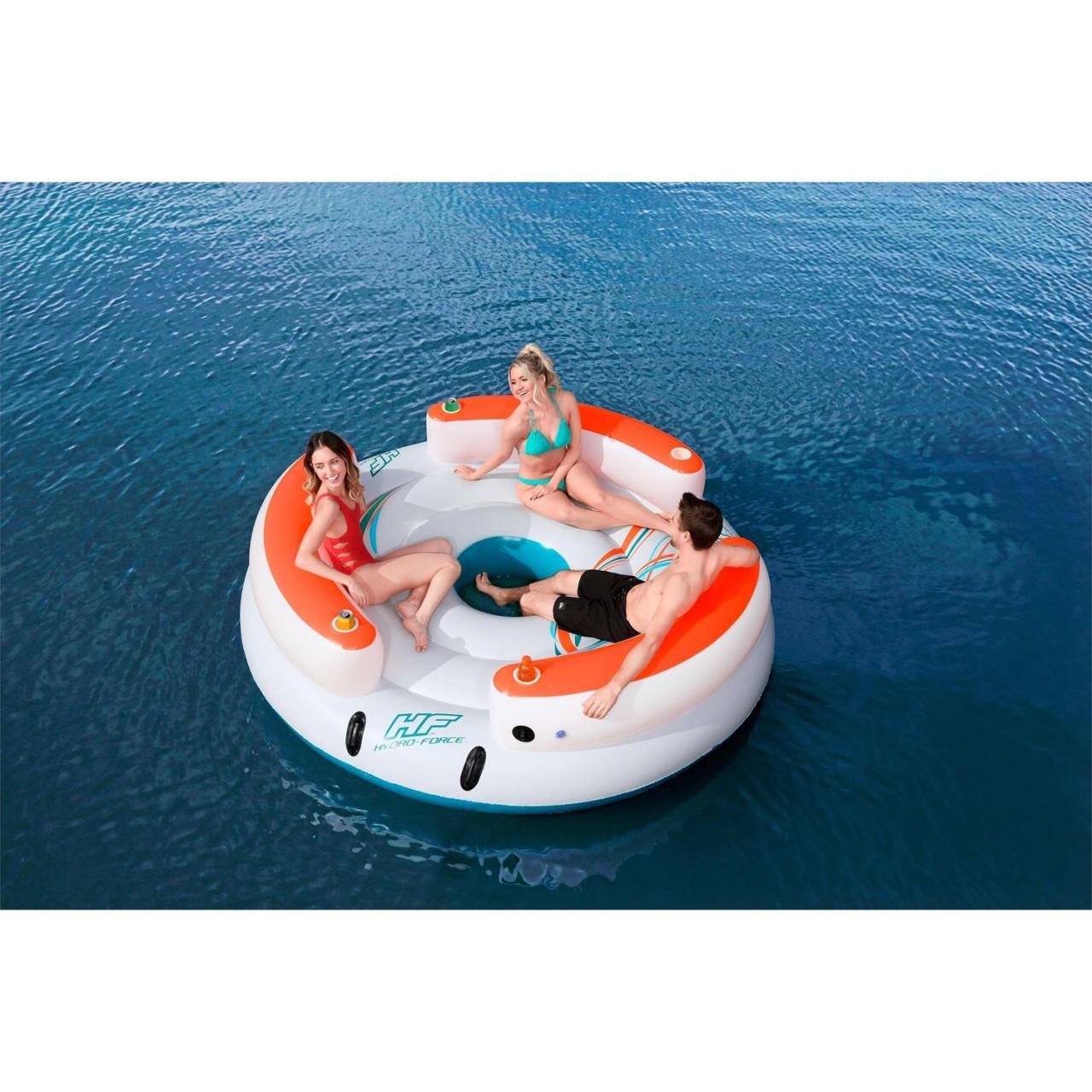 Bestway 43135 CoolerZ Schwimminsel Lazy Dayz 267x267 cm